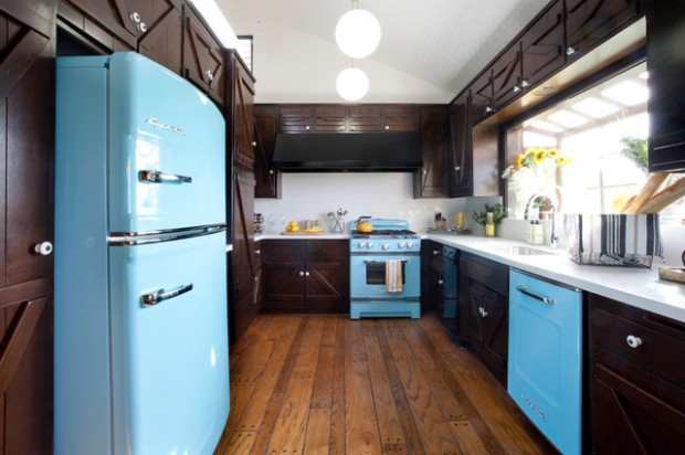 20 Great Kitchen Design Ideas in Retro Style (12)
