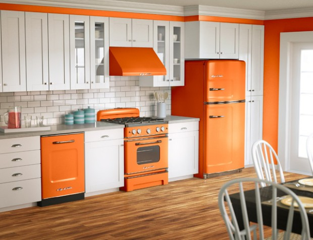 20 Great Kitchen Design Ideas in Retro Style (19)