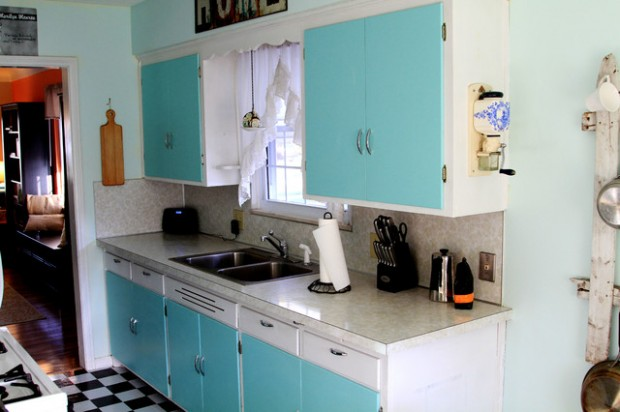 20 Great Kitchen Design Ideas in Retro Style (2)