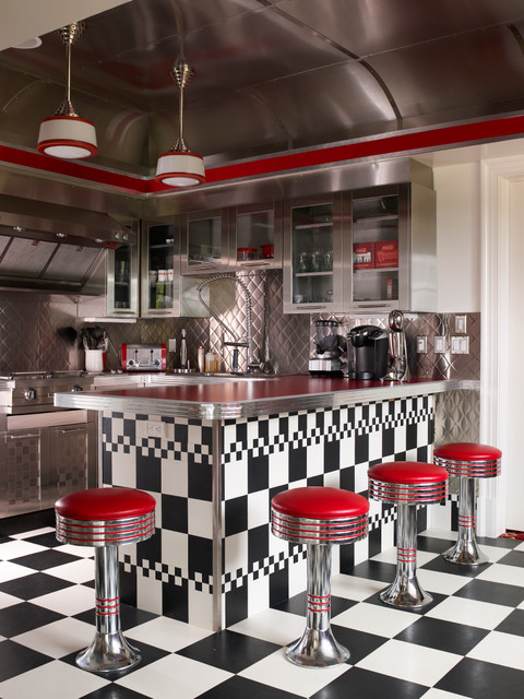 20 Great Kitchen Design Ideas in Retro Style (4)