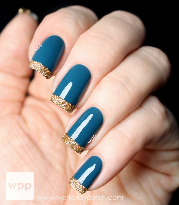 20 popular fallwinter nail design ideas - Fingernails Designs Idea