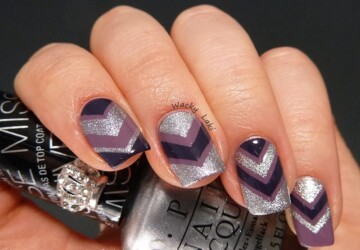 20 Popular and Creative Nail Art Ideas - popular nail art, Nails art, nails, creative nail art ideas