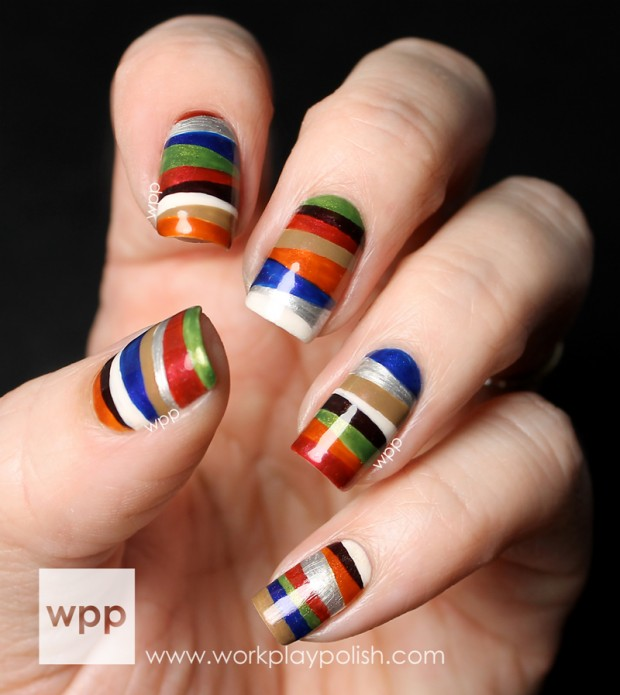 20 Popular and Creative Nail Art Ideas (4)