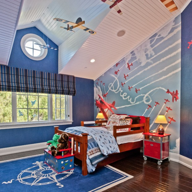 20 wonderful boys room design ideas style motivation for Boys room mural