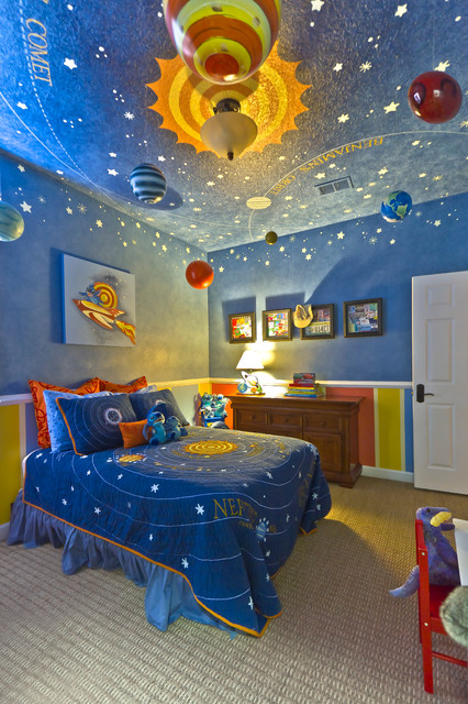 Kids Bedroom , Wonderful Spiderman Themed Boys Room Design Ideas ...