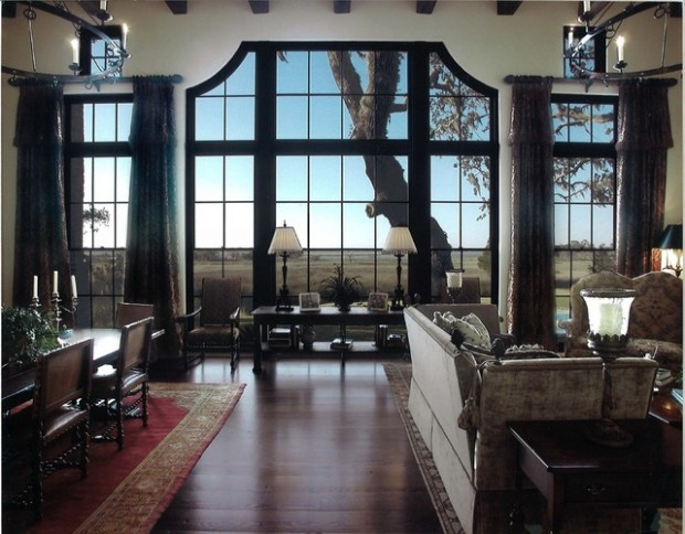21 Amazing Living Room Design Ideas with Window Wall (10)