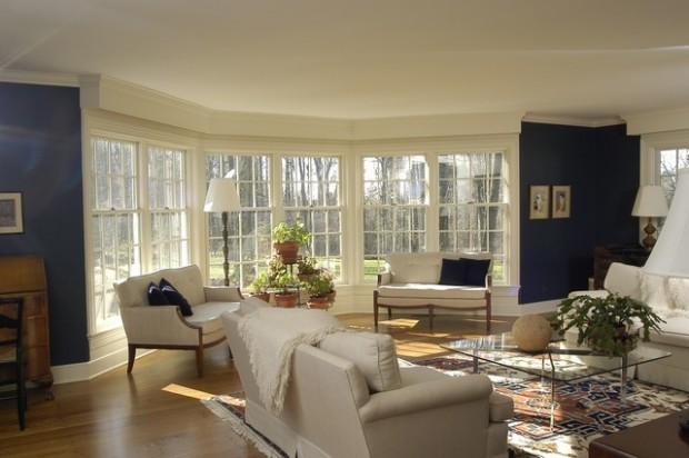 21 Amazing Living Room Design Ideas with Window Wall (18)
