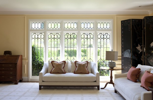 21 Amazing Living Room Design Ideas with Window Wall (21)