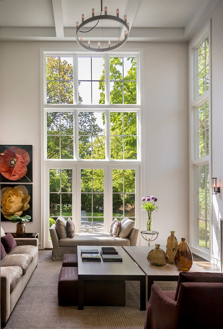 21 Amazing Living Room Design Ideas with Window Wall (3)