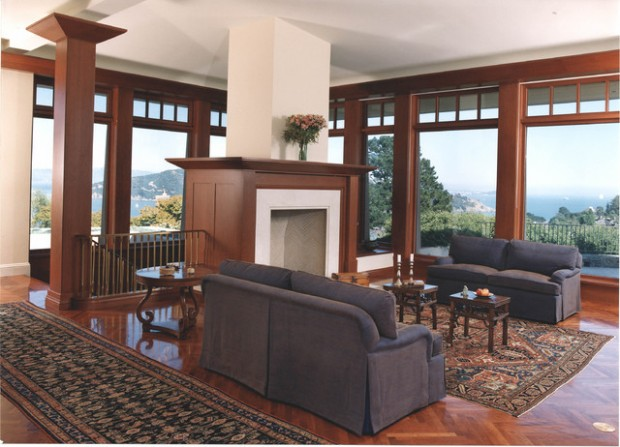 21 Amazing Living Room Design Ideas with Window Wall (4)
