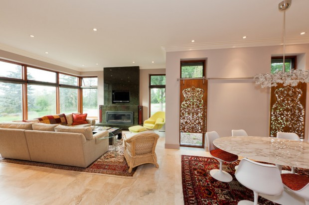 21 Amazing Living Room Design Ideas with Window Wall (5)