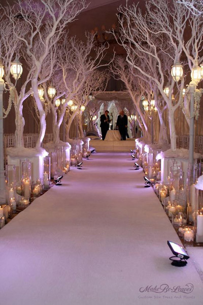 21 Amazing Winter Wedding Decoration Ideas (1)