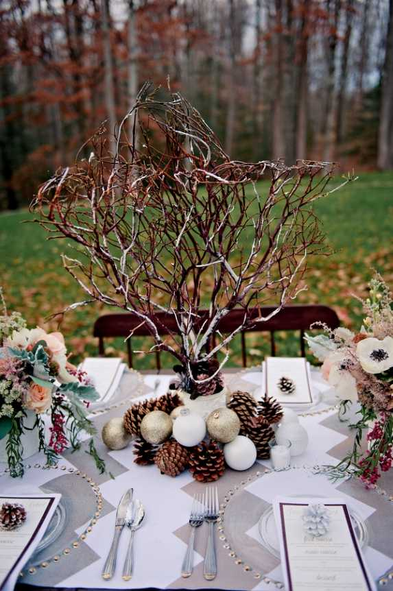 21 Amazing Winter Wedding Decoration Ideas (8)
