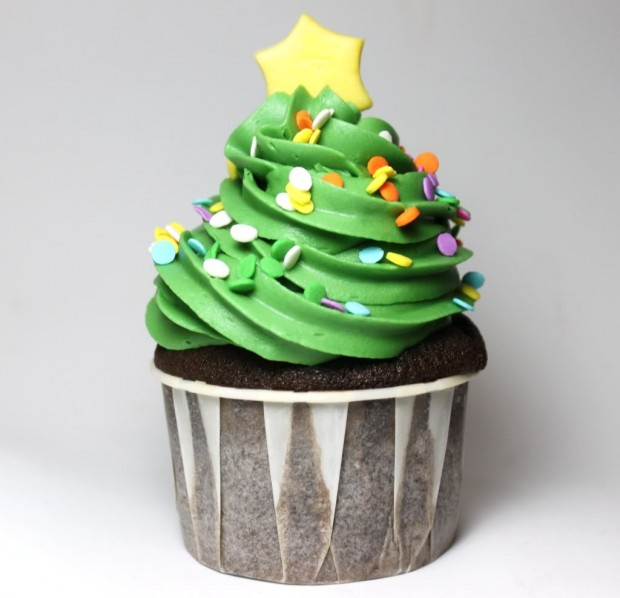 21 Cute and Sweet Christmas Cupcakes (21)