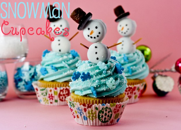 21 Cute and Sweet Christmas Cupcakes (4)
