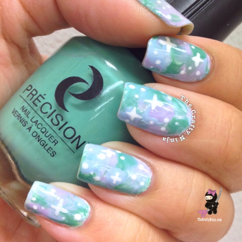 22 Amazing Nail Art Tutorials by Blogger The Crafty Ninja (1)