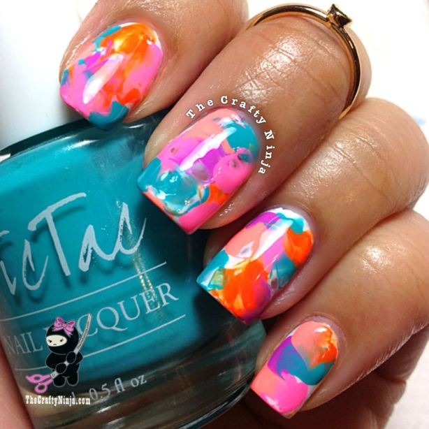 22 Amazing Nail Art Tutorials by Blogger The Crafty Ninja (11)