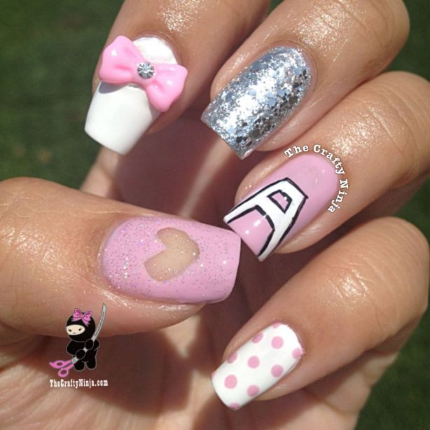 22 Amazing Nail Art Tutorials by Blogger The Crafty Ninja (13)