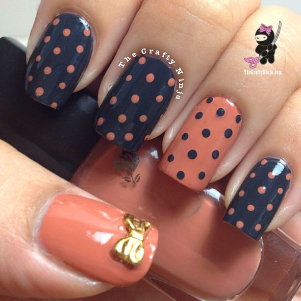 22 Amazing Nail Art Tutorials by Blogger The Crafty Ninja (14)