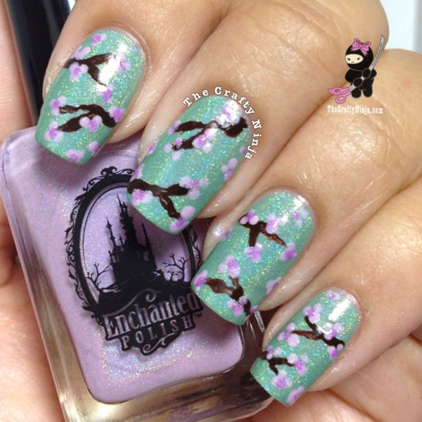 22 Amazing Nail Art Tutorials by Blogger The Crafty Ninja (16)