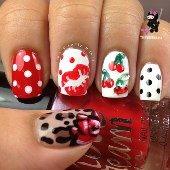 22 Amazing Nail Art Tutorials by Blogger The Crafty Ninja (17)
