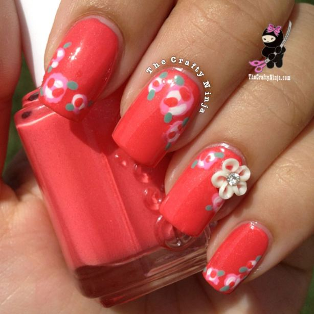 22 Amazing Nail Art Tutorials by Blogger The Crafty Ninja (19)