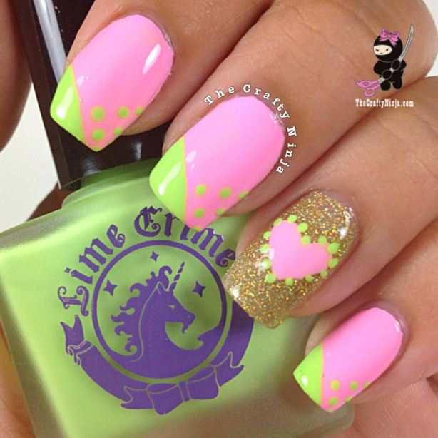 22 Amazing Nail Art Tutorials by Blogger The Crafty Ninja (2)