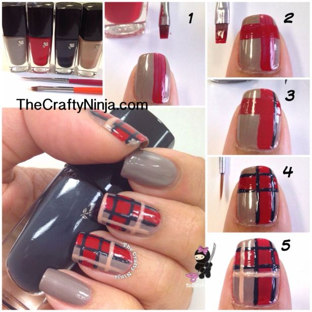 22 Amazing Nail Art Tutorials by Blogger The Crafty Ninja (22)
