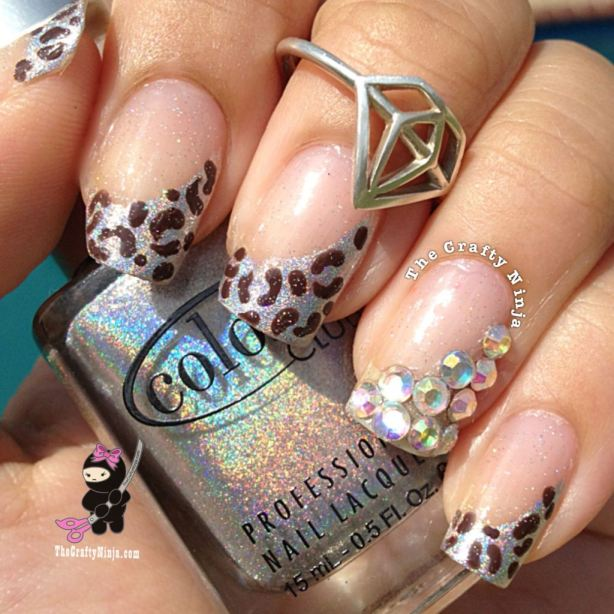 22 Amazing Nail Art Tutorials by Blogger The Crafty Ninja (4)