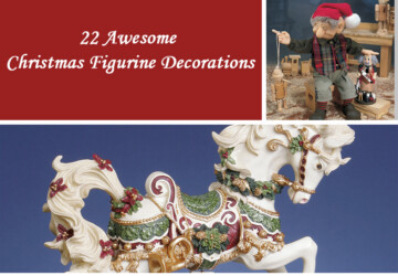 22 Awesome Christmas Figurine Decorations - snowman, santa, Figurines, Figurine decorations, decorations, Christmas Decorations, Christmas