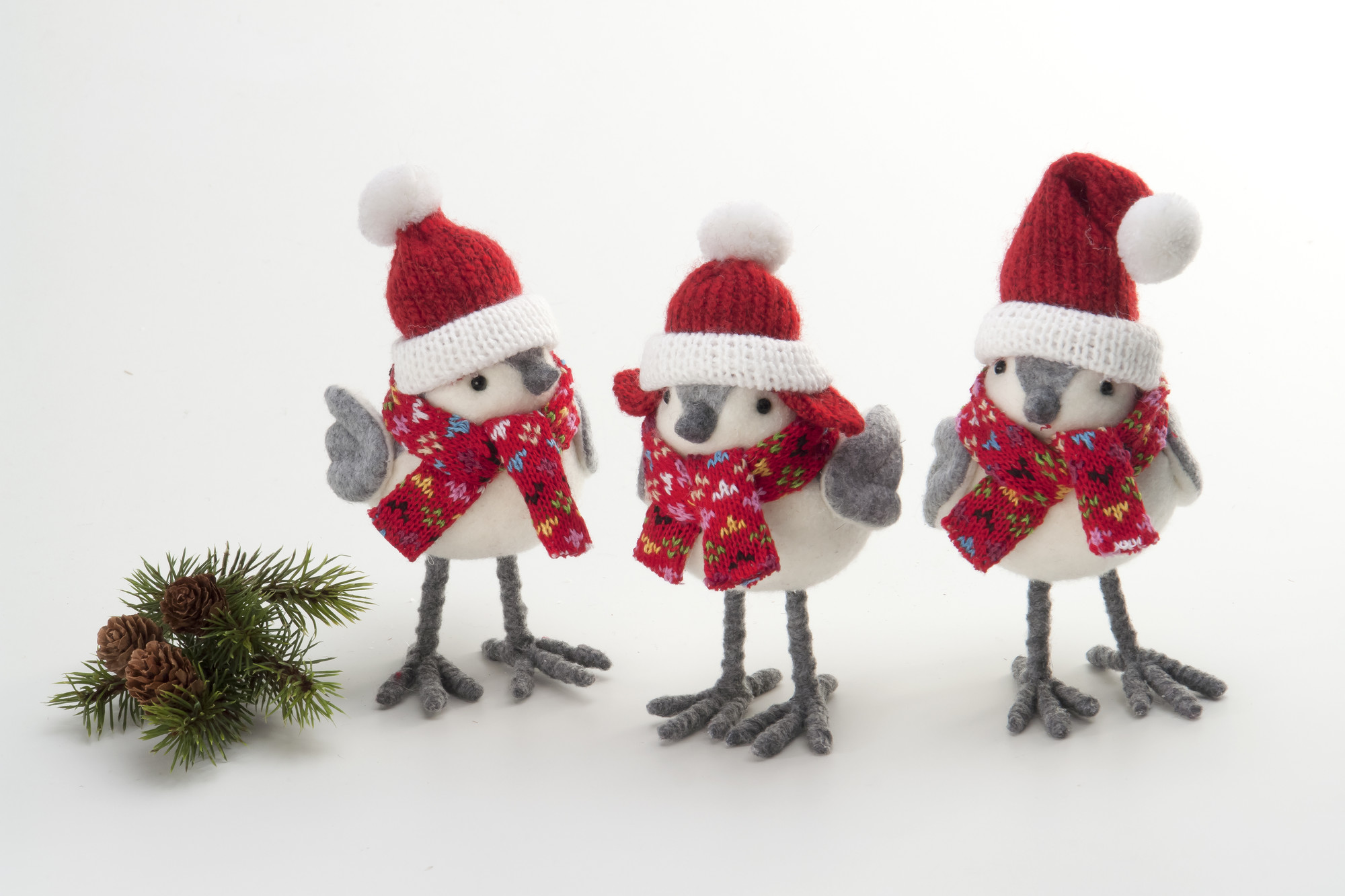22 awesome christmas figurine decorations - Bird Christmas Decorations