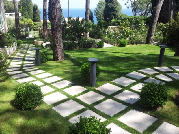 22 Great Ideas for Perfect Garden Path (2)