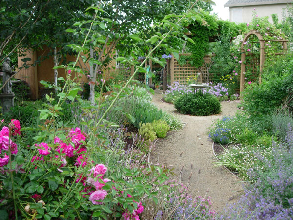 20 great ideas for perfect garden path style motivation for Perfect garden design