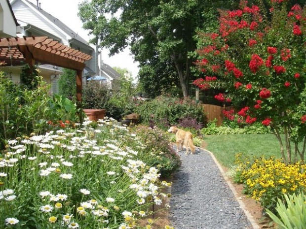 22 Great Ideas for Perfect Garden Path (8)