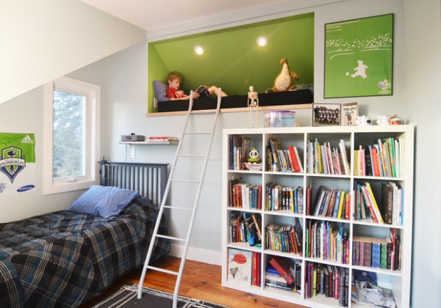 21 great reading nook design ideas for kids style motivation for Jugendzimmer young users