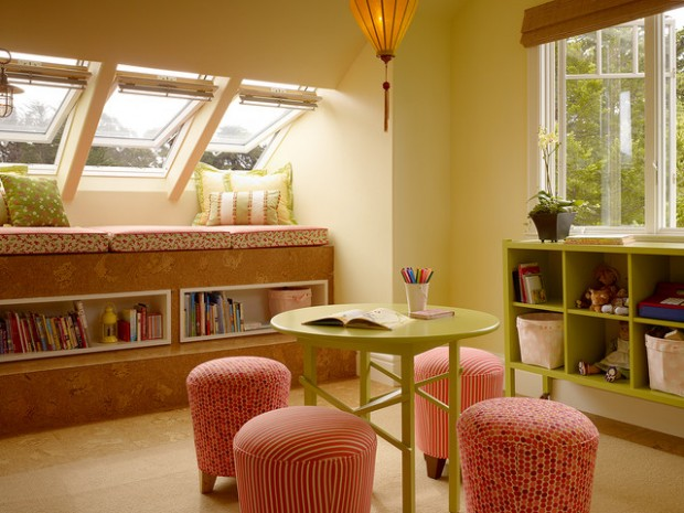 21 Great Reading Nook Design Ideas For Kids
