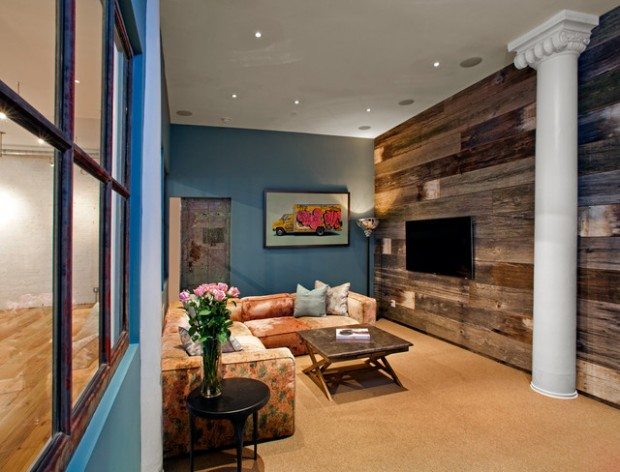 22 Wonderful Interior Design Ideas with Wooden Walls (12)
