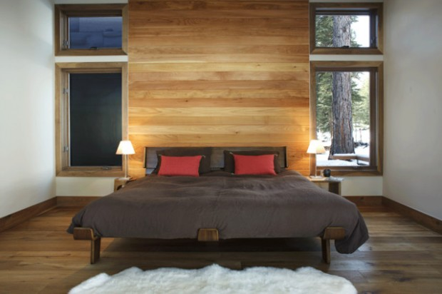 22 Wonderful Interior Design Ideas with Wooden Walls (14)
