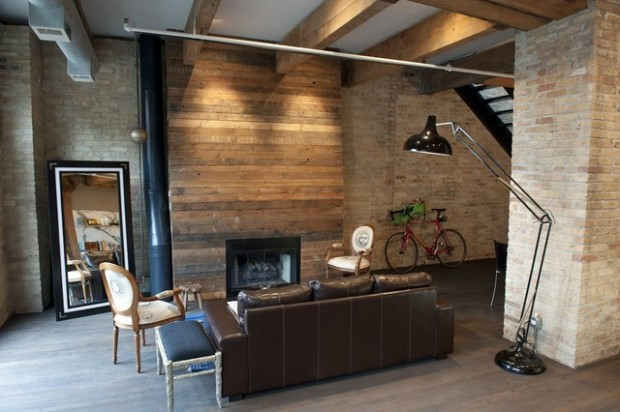 22 Wonderful Interior Design Ideas with Wooden Walls (19)