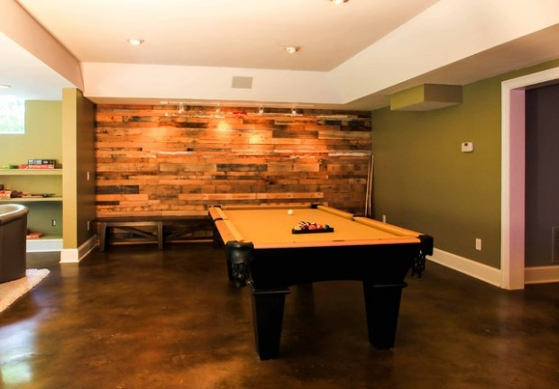 22 Wonderful Interior Design Ideas with Wooden Walls (2)