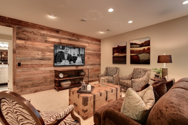 22 Wonderful Interior Design Ideas with Wooden Walls (20)