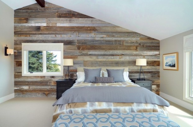 22 Wonderful Interior Design Ideas with Wooden Walls