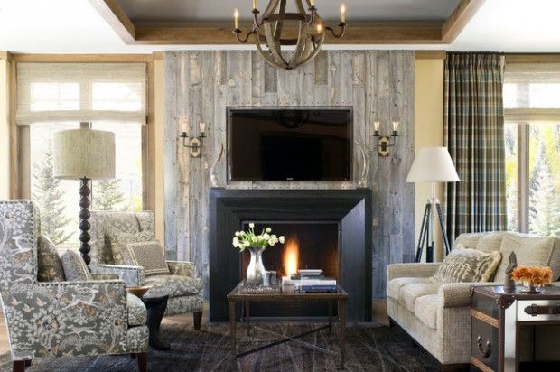 22 Wonderful Interior Design Ideas with Wooden Walls (9)