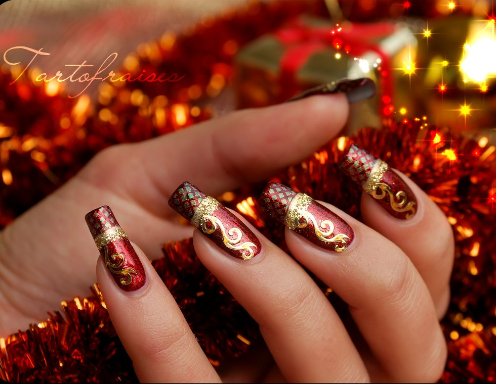 23 Amazing Christmas Nail Design Ideas Style Motivation