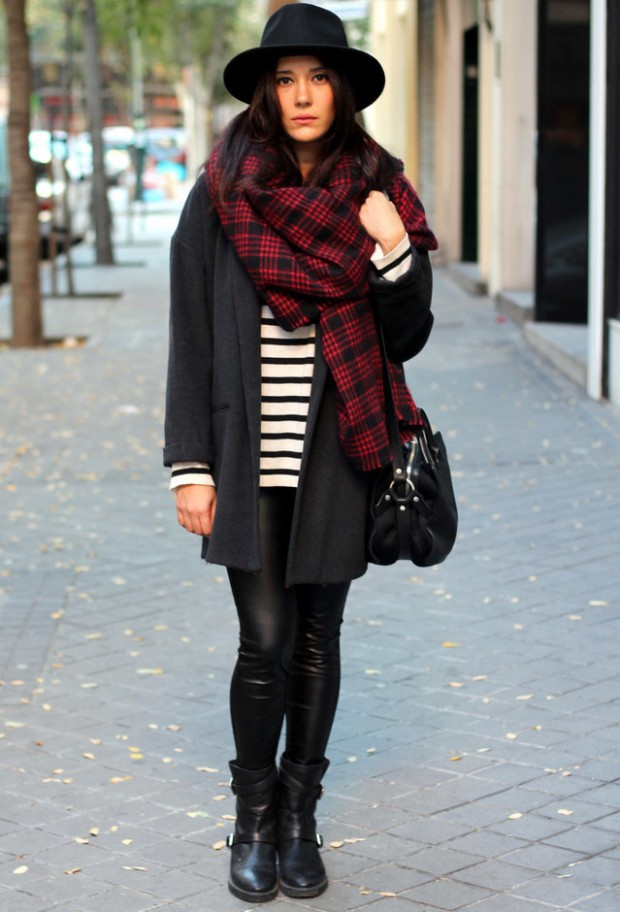 23 Amazing Street Style Combinations for Winter (14)