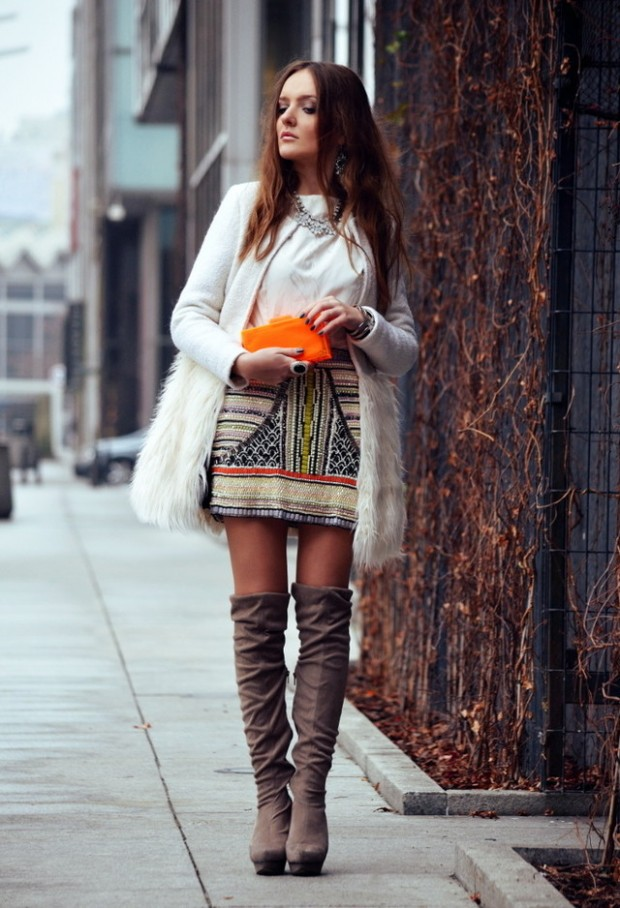 23 Amazing Street Style Combinations for Winter (16)