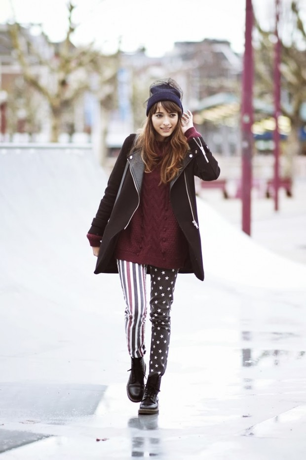 23 Amazing Street Style Combinations for Winter (20)