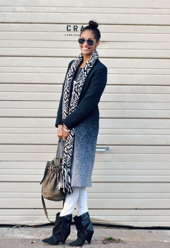 23 Amazing Street Style Combinations for Winter (21)
