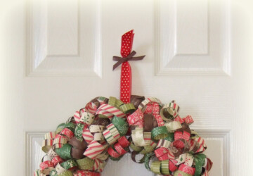 23 Great DIY Christmas Wreath Ideas - diy wreath, Diy Christmas Wreath, Diy Christmas, Christmas wreath, christmas decoration