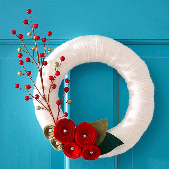 23 Great DIY Christmas Wreath Ideas